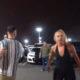Pikka kasvu tüdrukud ründavad parklas lühemat meest