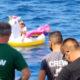 Mööduv praam päästab täispuhutava ükssarvikuga merele triivinud lapse